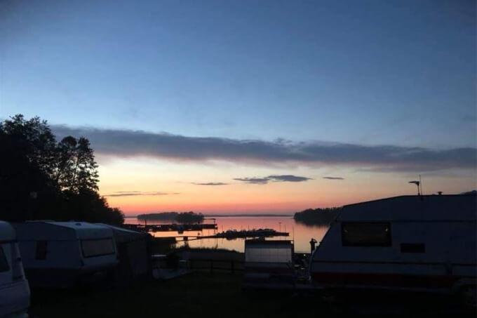 Björkö örns camping in Stockholm