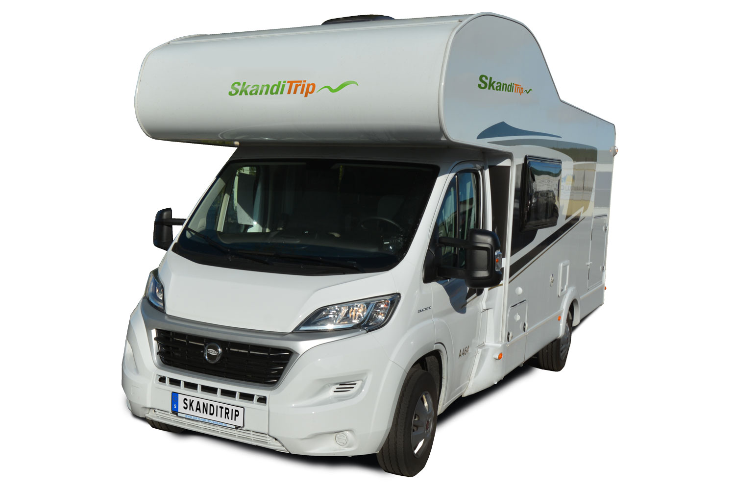 SkandiTrip Family Luxury motorhome model